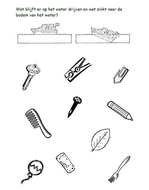 spell words with letters werkblad drijven en zinken natuur en techniek 5437