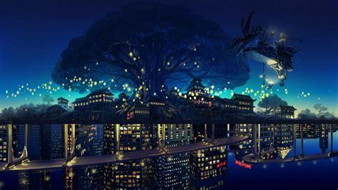 anime city wallpaper   beautiful wallpapers