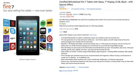 fire amazon refurbished deal tablet hd tablets low android pelegrin