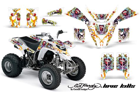 kit deco 200 blaster yamaha blaster yfs200 atv graphic kit