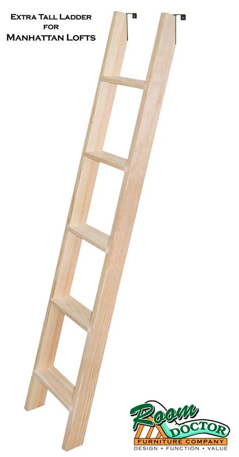 custom wooden bunk  loft ladder
