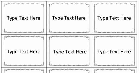 powerpoint flash cards template   editable cards