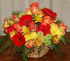 funeral flower arrangements autumn flowers