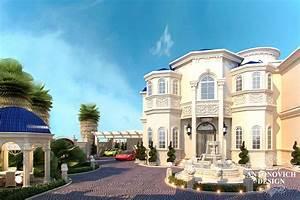 Awesome Villa's Exterior Design in Qatar Antonovich Design