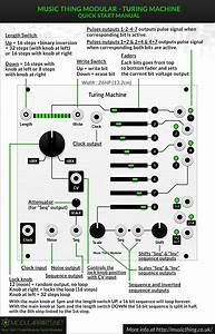 Music Thing Modular Turing Machine Quick Start Manual