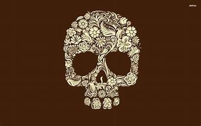 Skull Sugar Dead Wallpapers Phone Desktop Creepy