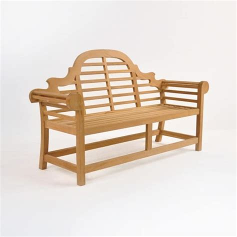 lutyens outdoor bench  teak  seat design warehouse nz