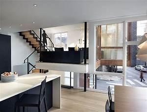 Open Plan Living Dining Kitchen Split Level House In