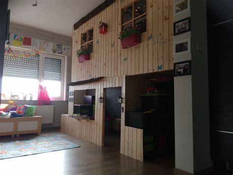 bureau fille ikea lit cabane kura à 2 étages bidouilles ikea