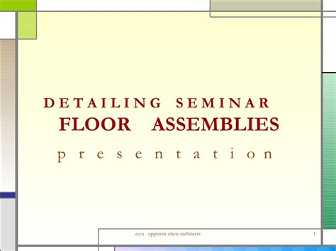 Hektar Floor L Assembly by Detailing Floor Assemblies