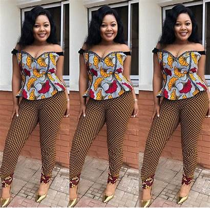 Styles Ankara African Trendy Tops Dresses Different