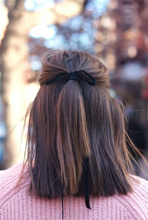 ribbon hairstyle ideas  pinterest hairstyles