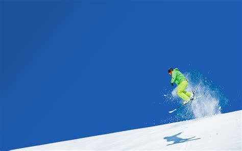 Skiing Background Skiing Hd Wallpaper Background Image 1920x1200 Id