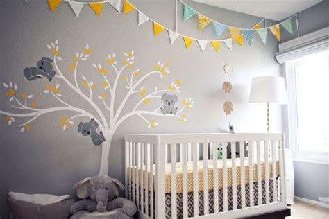 chambre bébé décoration murale deco murale chambre bebe chambre idées de décoration