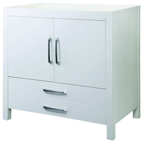 Decolav 5223 Wht Cameron Vanity Without Top In White