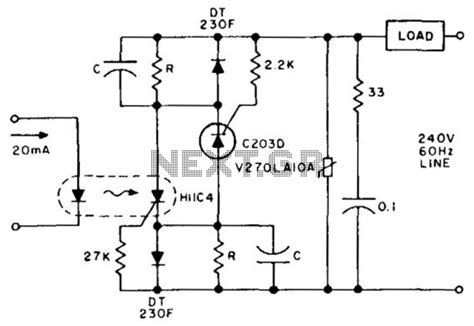 Latching Solid State Relay Under Circuits