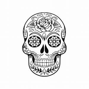 Tete De Mort Mexicaine Femme : t te de mort mexicaine motif fleur rose virgy 39 s ~ Melissatoandfro.com Idées de Décoration