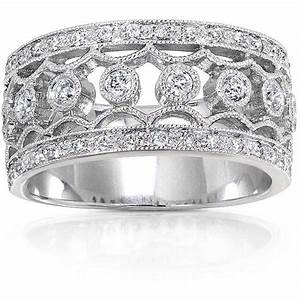 wide band diamond wedding rings for women womens With womens wide band wedding rings