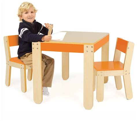 pkolino table and chairs canada dreamfurniture one s table and chairs orange
