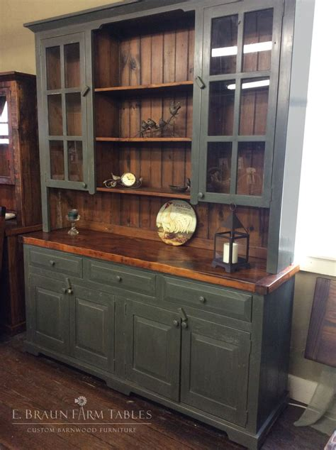 Wood Kitchen Furniture by Best 25 Buffet Hutch Ideas On Farmhouse
