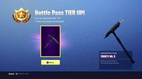 Trusty No. 2 Fortnite Pickaxe (harvesting Tool)