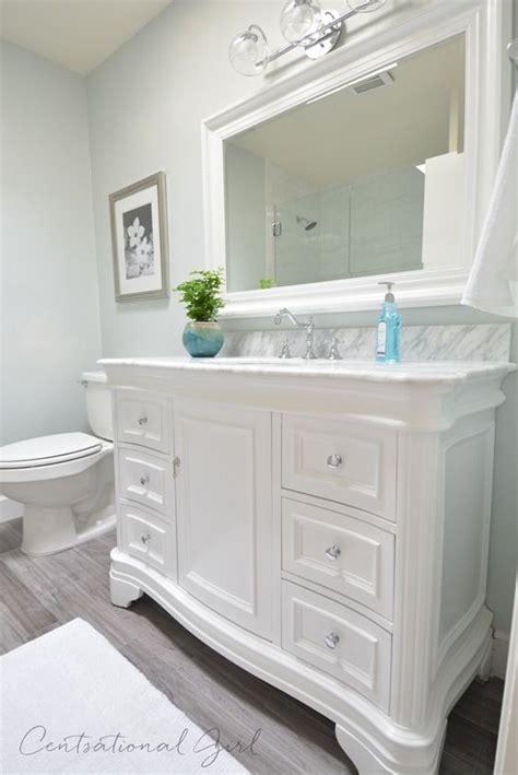 white bathroom mirror ideas pinterest framed