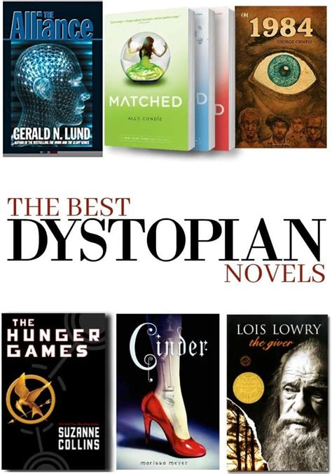 Best Novels The Best Dystopian Novels Of All Time