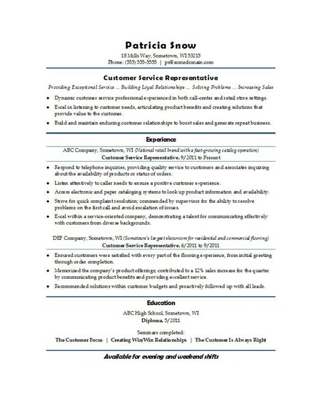 customer service cv 30 customer service resume examples template lab