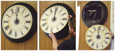 Hide Your Glock In A Clock With The Tactical Walls