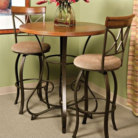 pub height kitchen table pub table bar counter height cherry wood bronze metal