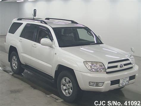 2005 toyota hilux surf 4runner pearl for sale stock no 41092 used cars exporter
