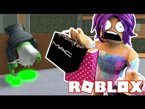 Escape The Zombie Infected Mall  Roblox Obby Youtube