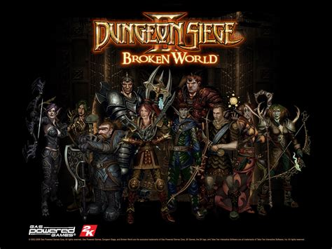 dungeon siege ii dungeon team