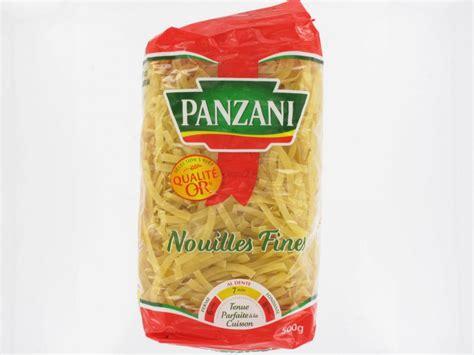 cuisine domicile nouilles fines panzani 500 grs pâtes riz purées