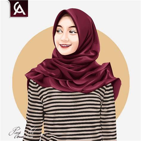 hijab vexel portfolio project vexel art