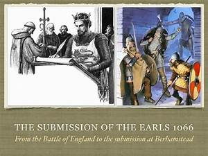 Gcse History The Submission Of The Earls In 1066