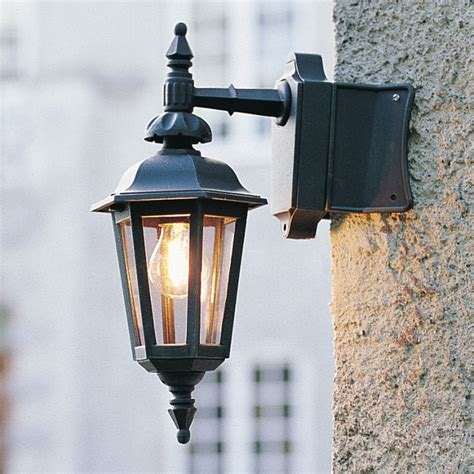 your home look with corner wall lights and