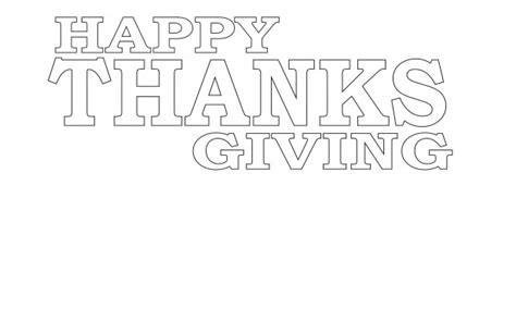 happy thanksgiving coloring page free stock photo domain pictures