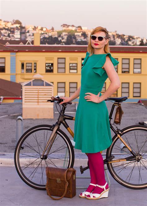 outfit   day emerald isle inspired bike pretty