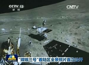 China's 1st Lunar Lander snaps 1st landing site Panorama ...