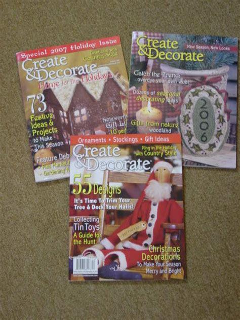 create and decorate magazine free create and decorate magazine aj s trash2treasure blog