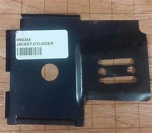 Cylinder Bar Plate Shield Jacket Mcculloch 605 610 650