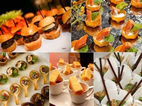 cocktail canapes ideas cocktail canapes wedding ideas