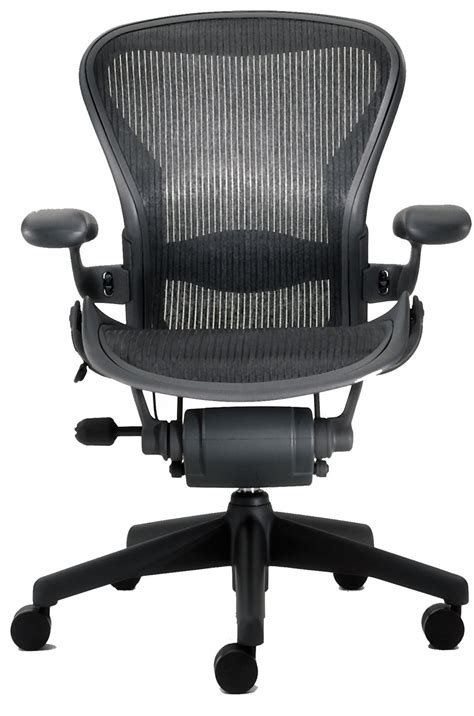 new herman miller aeron office chair black graphite size b
