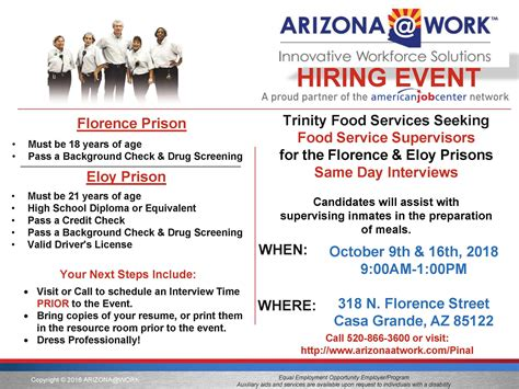 pinal county arizona work