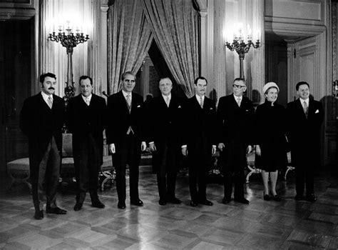 Le Gouvernement Luxembourgeois En 1969