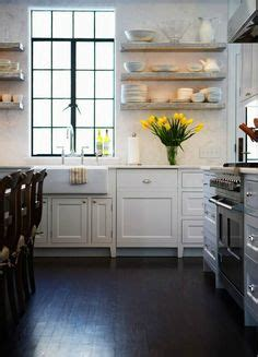how to clean kitchen cabinets bhg gorgeous l shaped kitchen clean white walls and large 8577