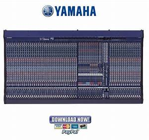 Yamaha Pm5000 Series Mixing Console Service Manual
