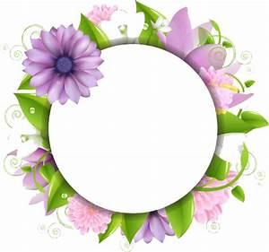 Flower Border Png - ClipArt Best