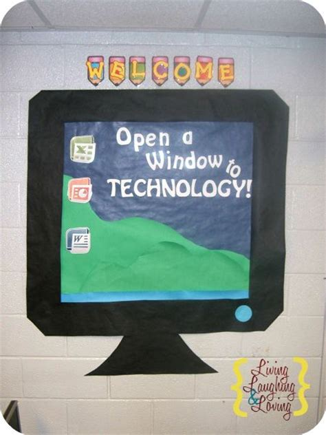 open  window  technology computer lab bulletin board